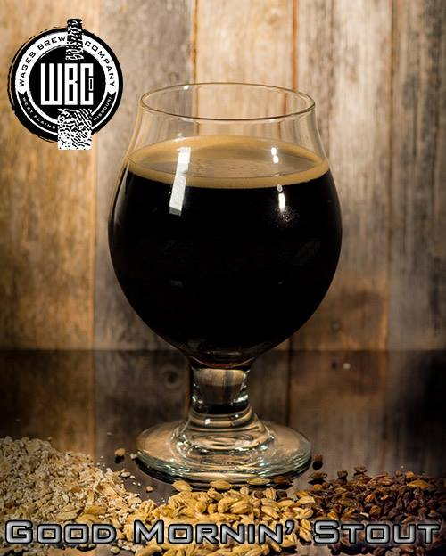 Wages Brewing Company Good Morning Stout