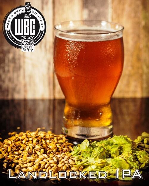 Wages Brewing Company Landlocked IPA