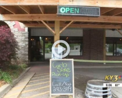 Owner Phil was interviewed by KY3 regarding reopening after COVID shutdown